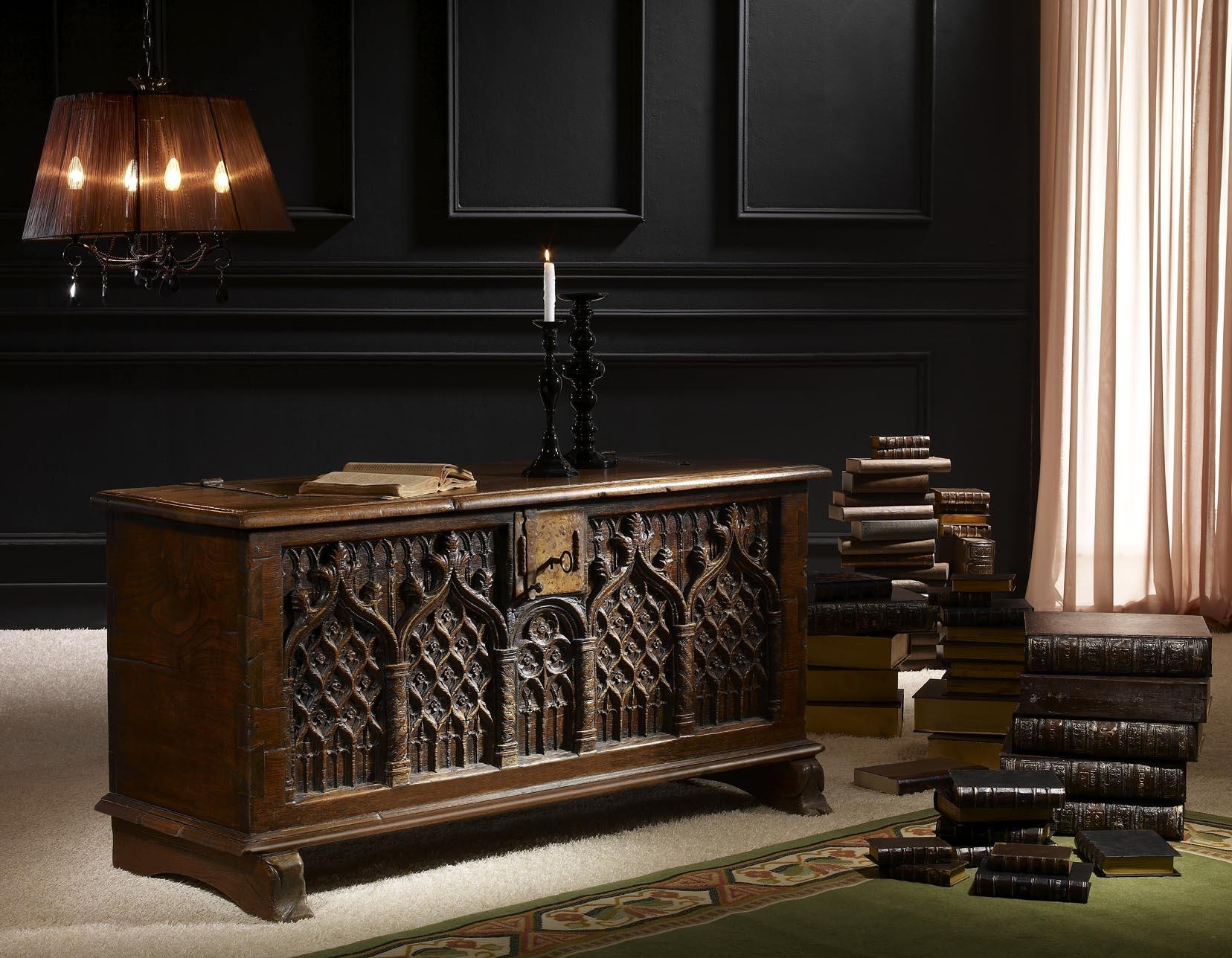 Mueble gotico ddimaf for Muebles de bano con estilo